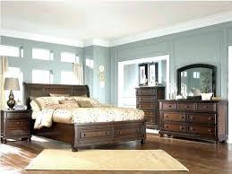 blue walls brown furniture. Grey Bedroom Brown Furniture Blue Walls Dark Pine Master Wood With Light