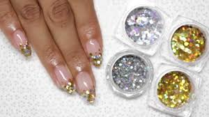 Encapsulated Glitter (Easy Gel Nail Art Tutorial) - YouTube