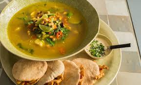 wat eet je bij soep