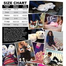 Happy Feet Slippers Size Chart Happy Feet Pink Pig Slippers