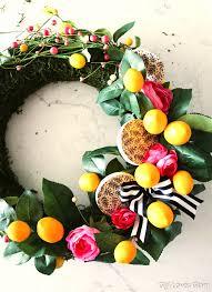 diy summer wreath concept