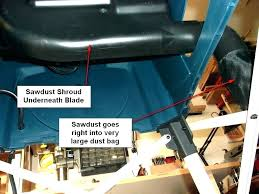 dewalt table saw dust collector bag table saw dust bag table saw dust collector overarm plans
