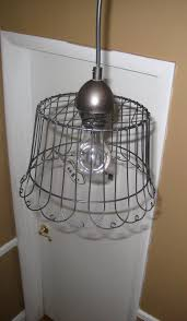 wire basket pendant light diy tutorial 3 sunkissed boys featured on remodelaholic