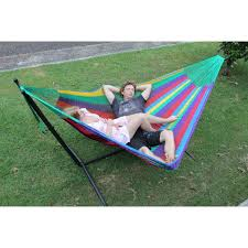 two person hammock with stand. Metal Hammock Stand And Mexican Queen Package - Free Delivery \u2013 Hammocks Australia Two Person With C