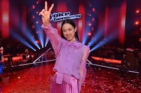 Jump to navigation jump to search. The Voice Of Germany 2019 Winner Is 19 Year Old Girl From Indonesia Seasia Co Line Today
