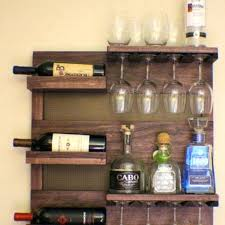 wall mounted glass bar shelves diy shelf kitchen marvellous licious hanging