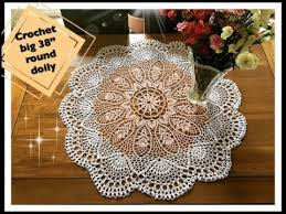 how to crochet big 38 round doily part 2 of 3