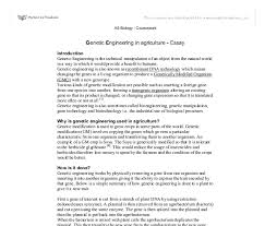 genetic engineering in agriculture a level science marked by  document image preview