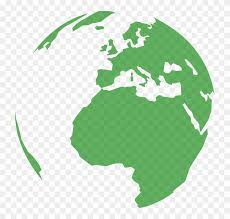 Planet Earth Clipart Animated Globe Round World Map Png Free