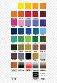 Plutonium Color Chart Sun And Rain Paint Color Hd Png