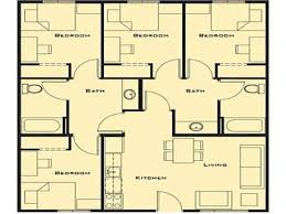 Best 25 4 Bedroom House Plans Ideas On Pinterest Small Farmhouse Small 4 Bedroom House Plans