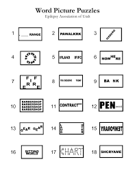 Rebus Puzzles Worksheets Worksheets for all | Download and Share ...
