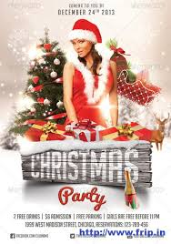 16 Printable Christmas Party Flyer Templates Images Free