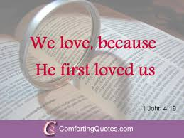 Religious Quotes About Love Beauteous Bible Quote On Love With Image ComfortingQuotes