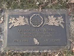 Arlinda Myra Norris (1969-1989) - Find A Grave Memorial