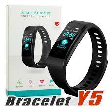Y5 <b>Smart Bracelet</b> Wristband Fitness Tracker Color Screen Heart ...