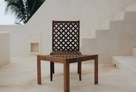 patterns furniture. Swahili Carpenters On Lamu Island To Design A Chair And Side Table Inspired By Centuries Old Mashirbirya Patterns As Seen In Arabic-Bantu Architecture Furniture D