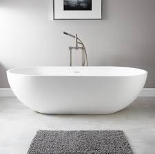 ... Bathtubs Idea, Freestanding Tub With Jets Freestanding Air Tub Large  Oval Freestanding Bathtub With Faucet ...