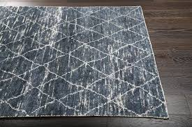 trellis design rugsville trellis navy blue bamboo silk moroccan rug x cm rug navy