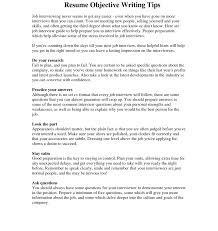 Resume Objective Statements For First Job Best of Resume Objective Examples Need In Tips Template Should We Write Do