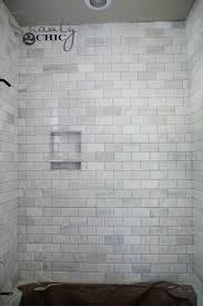 marble subway tile shower floor marble shower together with updating s shanty in marble subway tile marble subway tile shower