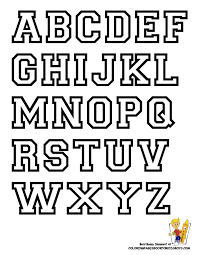 Letter Stencils To Print And Cut Out Free Alphabet Letter Print Out College Alphabet Coloring College