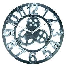 large gear wall clock large gear wall clock gear wall decor gear wall clocks gears wall clock amazing exposed gear wall mount clock with big wheel revolving