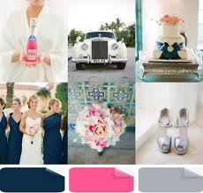 latest wedding color trends blue wedding ideas and invitations Wedding Colors Navy And Pink navy blue pink and gray outdoor wedding color ideas 2014 wedding colors navy blue and pink