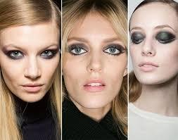 fall winter 2016 2016 makeup trends smokey eye makeup