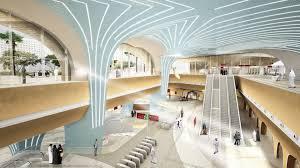 Tec Interior Design Qatar Doha Msheireb And Education City Metro Stations One Works