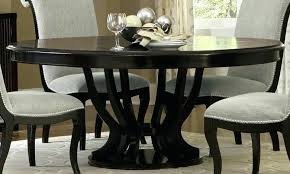 wooden extendable dining table ikea dining tables espresso round pedestal extendable dining table main image extendable