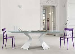 extended glass dining table. bonaldo prora extending dining table extended glass u