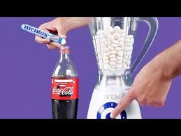 Mentos Vending Machine Classy Watch Brave Guy Swim In A Pool Full Of Coke And Mentos CNET