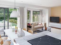 Offenes Wohn Esszimmer Modern Mit Küche Wohnzimmer Ideen