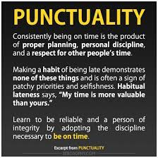 being on time to professional and personal events is very  being on time to professional and personal events is very important to me i consistently demonstrate punctuality when attending meetings and arriv
