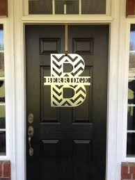 front door monogramCHEVRON Monogram Front Door Wreath Monogram Door Wreath