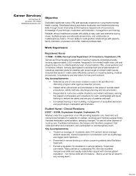 Nurse Resume Sample student nurse resume sample Josemulinohouseco 41