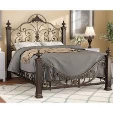 King Size Tall Beds You'll Love | Wayfair