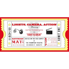 Movie Night Invitation Template - Peruenpositivo.com