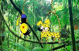 Pikachu2019 and Marsupilami by pikachuandpichu106 on DeviantArt