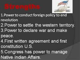5 Strengths And Weaknesses Strengths And Weaknesses Of Articles Of Confederation