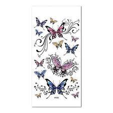 Tattoo Samolepky Pas Hrudníku Ramena Motýl Vzory Tetování Nálepky At Vova