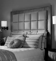 extra tall upholstered headboard  beautiful decoration also tall