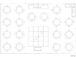 guest seating chart template templates design wedding table reception round tables