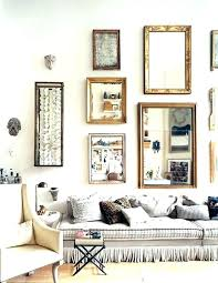 wall mirrors for living room. Modern Mirrors For Living Room Wall Vintage .