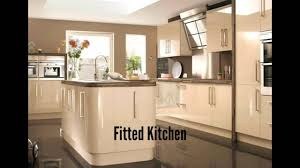 Fitted Kitchen Fitted Kitchen Youtube