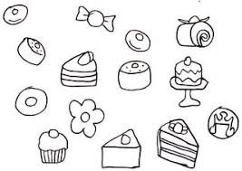 ショートケーキのイラスト 自閉症長男の絵画記録