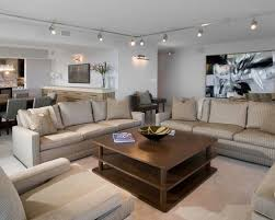 track lighting in living room. large contemporary living room idea in chicago with white walls track lighting houzz