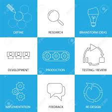 Software Engineering Project Planning Process Concept Vector