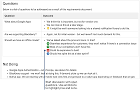requirements document template how to document product requirements in confluence atlassian
